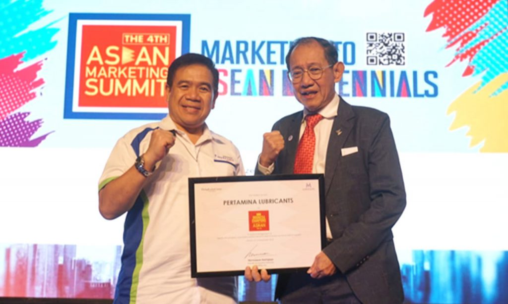 Pertamina-Lubricants-Wins-Award-at-the-4th-ASEAN-Marketing-Summit-2018